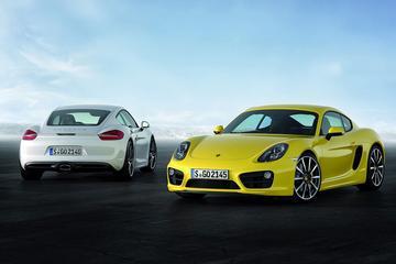 Porsche Cayman druppelt verder het internet op