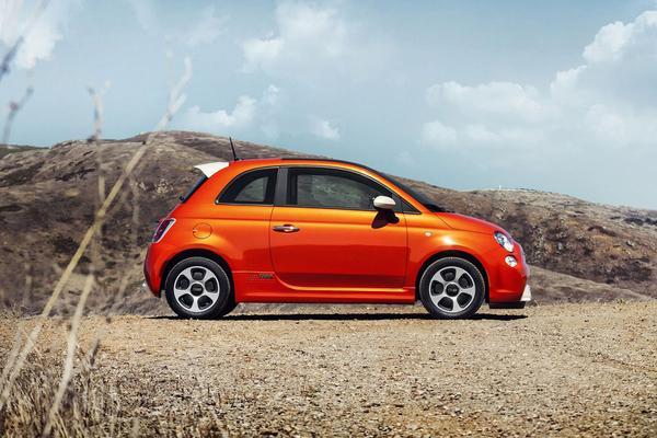 Elektrische Fiat 500 in 2020