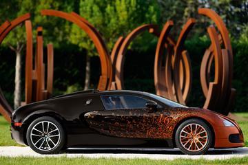 Bugatti Veyron Grand Sport voor bollebozen