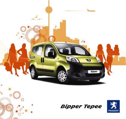Brochure Peugeot Bipper 2009