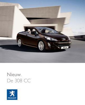 Brochure Peugeot 308 CC 2009