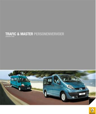 Brochure Renault Trafic & Master personenvervoer