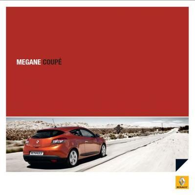 Brochure Renault Mégane Coupé 2009