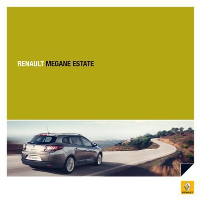 Brochure Renault Mégane Estate 2009
