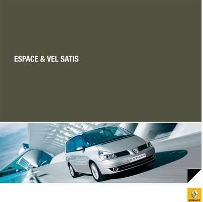 Brochure Renault Espace 2009