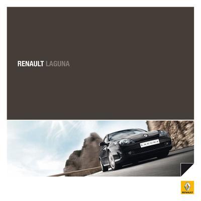 Brochure Renault Laguna 2009