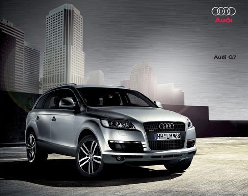 Brochure Audi Q7 2009