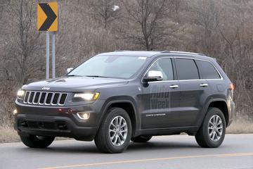Jeep Grand Cherokee onder het mes