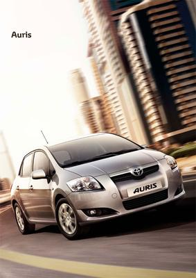 Brochure Toyota Auris 2009