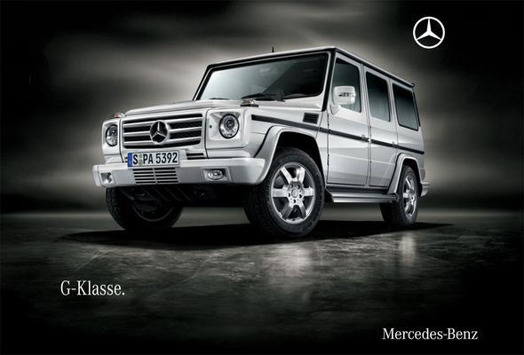 Brochure Mercedes-Benz G-klasse 2009