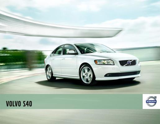 Brochure Volvo S40 2010