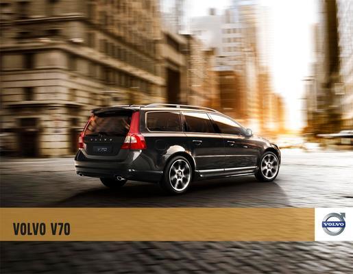 Brochure Volvo V70 2010