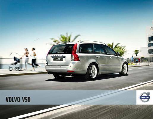 Brochure Volvo V50 2010