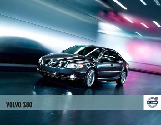 Brochure Volvo S80 2010