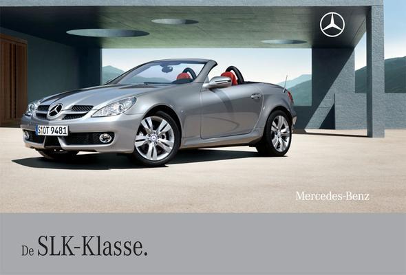 Brochure Mercedes-Benz SLK-klasse 2008