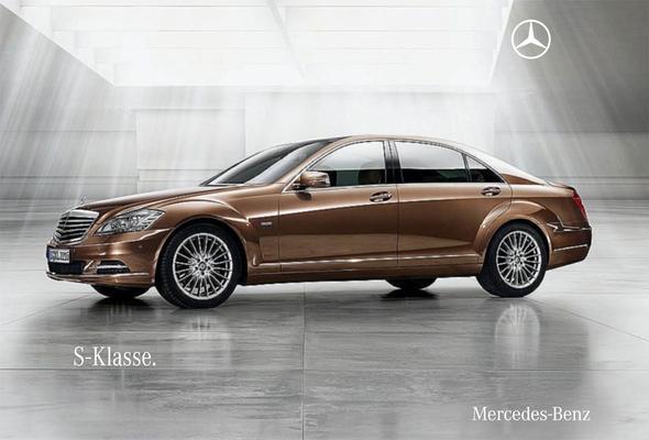 Brochure Mercedes-Benz S-klasse 2009