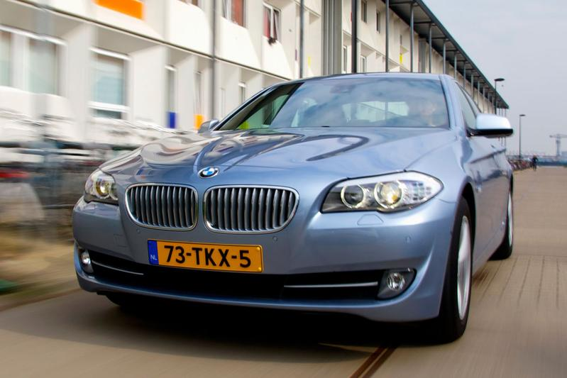 BMW ActiveHybrid 5 (2012)