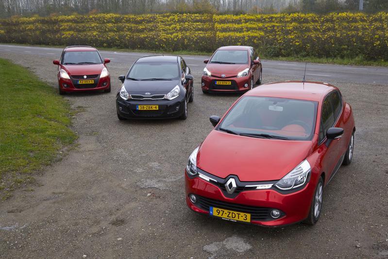 Renault Clio - Suzuki Swift - Kia Rio - Toyota Yaris