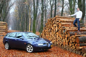 Klokje Rond - Alfa Romeo 156 Sportwagon