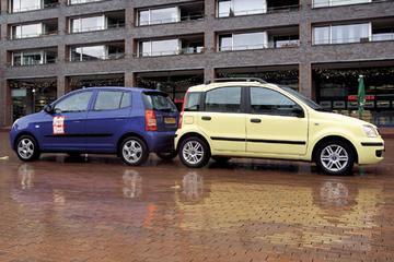 Fiat Panda 1.2 Dynamic / Kia Picanto 1.0 LXE