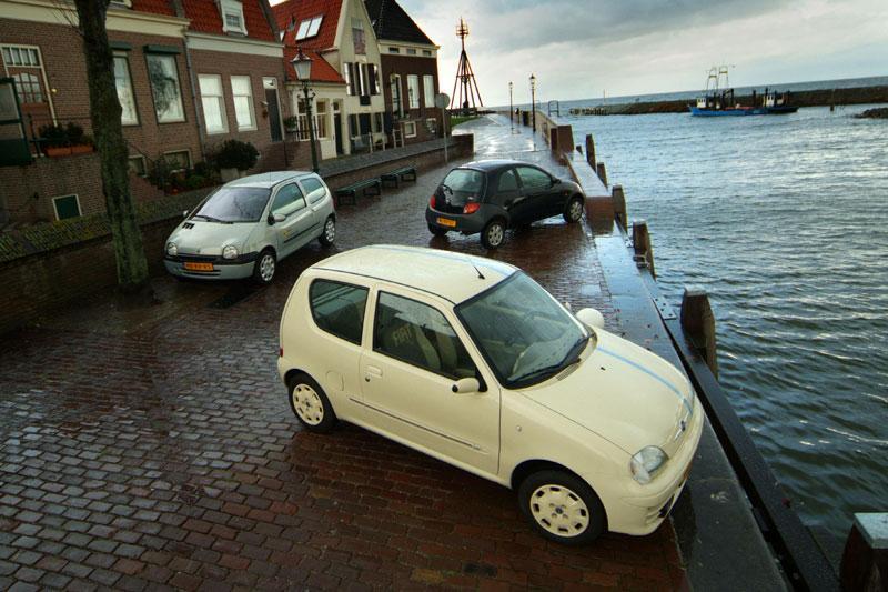 Fiat 600 50th Anniversary – Ford Ka 1.3 Champion – Renault Twingo 1.2 8V