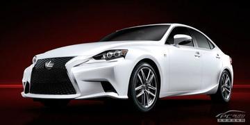 Gewaagd: het eerste beeld van de Lexus IS!