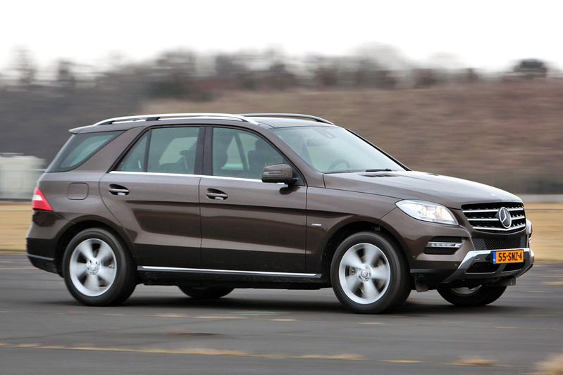 Mercedes-Benz ML 350 BlueTEC 4Matic (2012)