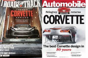 Eerste beeld nieuwe Corvette duikt op