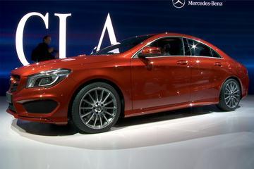 Detroit NAIAS 2013 - Mercedes-Benz CLA onthulling!