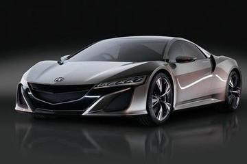 Eerste platen Acura NSX duiken op