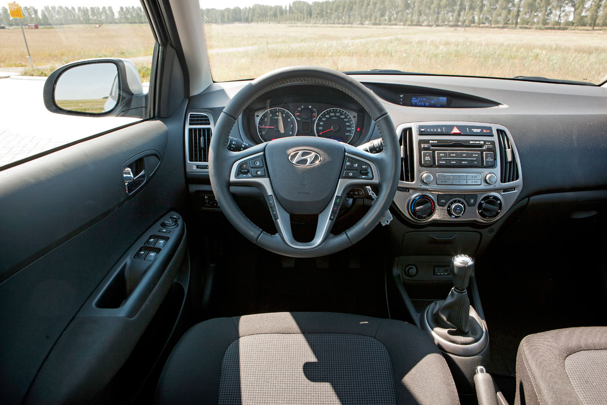 Hyundai i20 1 2 i vision 2012 autotests for Interieur hyundai i20