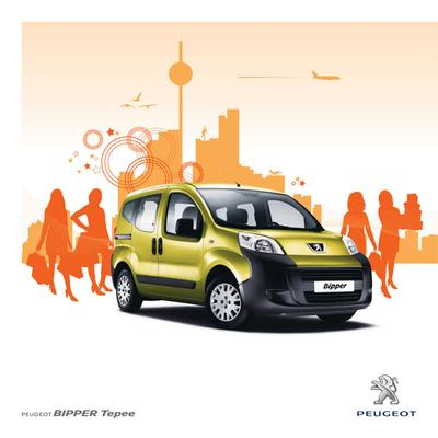 Brochure Peugeot Bipper Tepee 2011
