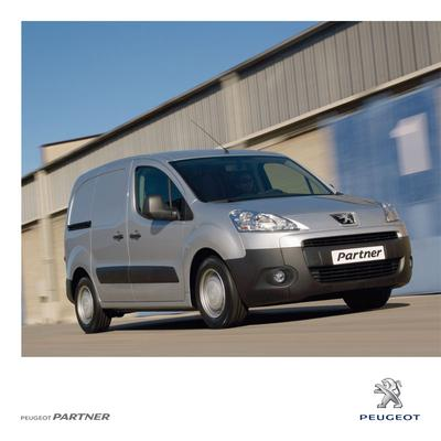 Brochure Peugeot Partner 2011