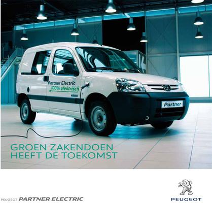 Brochure Peugeot Partner Electric