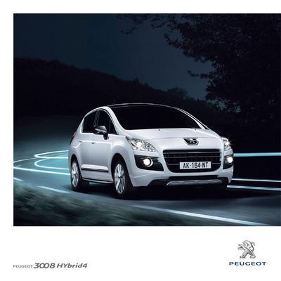 Brochure Peugeot 3008 Hybrid 2011