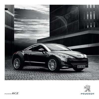 Brochure Peugeot RCZ 2011