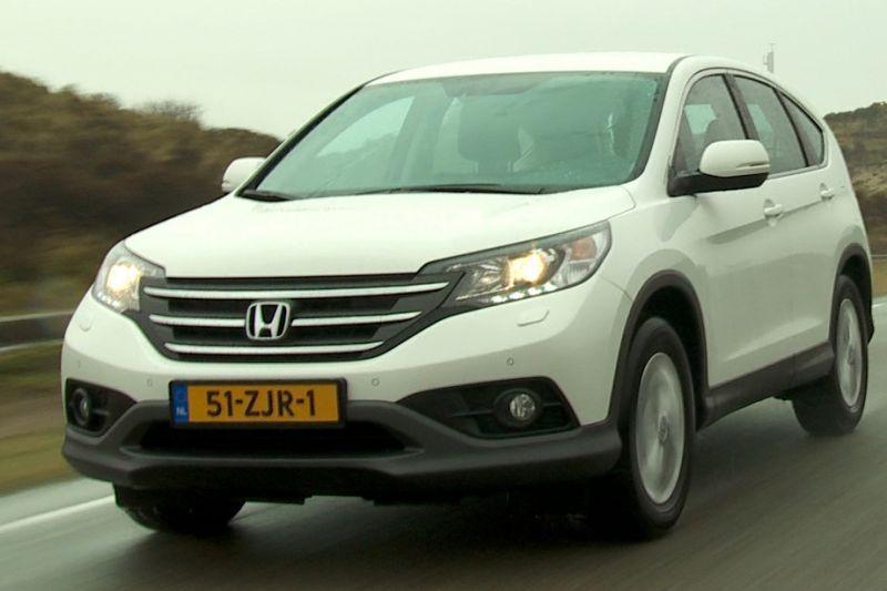 Rij-impressie - Honda CR-V