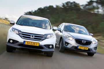 Honda CR-V 2.0 Elegance - Mazda CX-5 SkyActiv-G 2.0 TS+