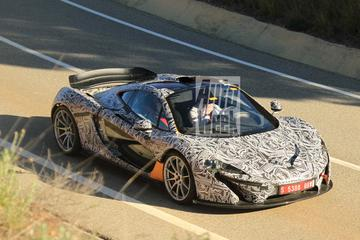 Eerste foto's McLaren P1