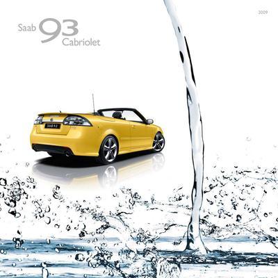 Brochure Saab 9-3 Cabriolet 2009