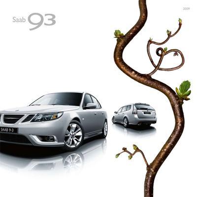 Brochure Saab 9-3 2009