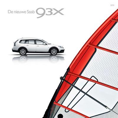 Brochure Saab 9-3X 2010