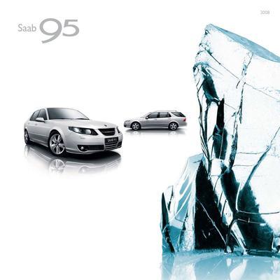 Brochure Saab 9-5 2008