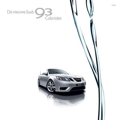 Brochure Saab 9-3 Cabriolet 2008