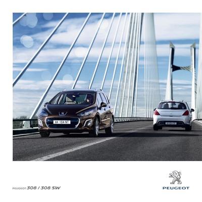 Brochure Peugeot 308 2011
