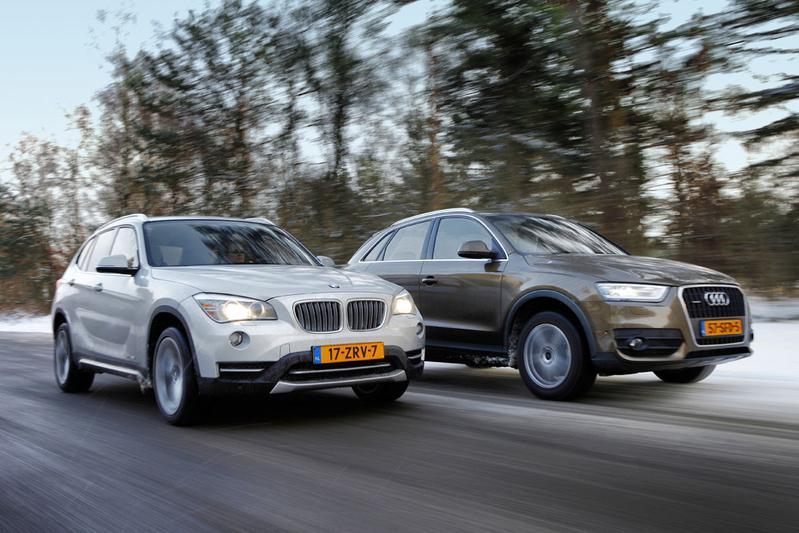 Cross-overs met kapsones: BMW X1 - Audi Q3