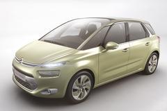 Citroën C4 Picasso vermomd als Technospace Concept