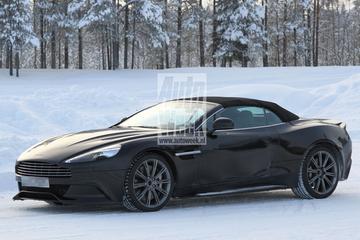 Winterkoning: Aston Martin Vanquish Volante