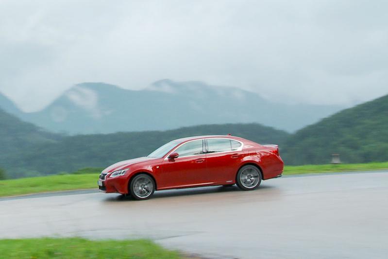 Rij-impressie Lexus GS 450h
