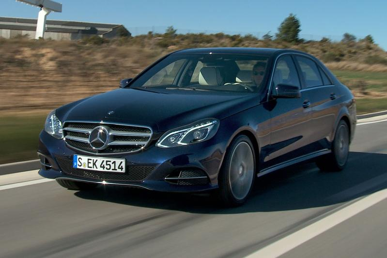 Rij-impressie Mercedes-Benz E-klasse